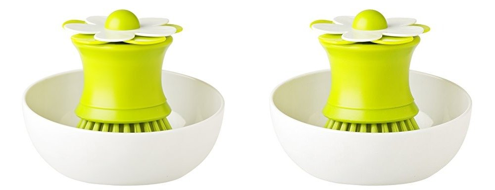 Vigar Palm Brush Dish with Holder - Set of 2 by Vigar America (Image #1)