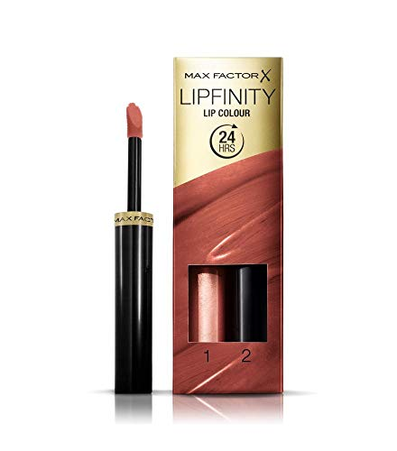 Max Factor Lipfinity Lipstick, Spicy, 1 Set
