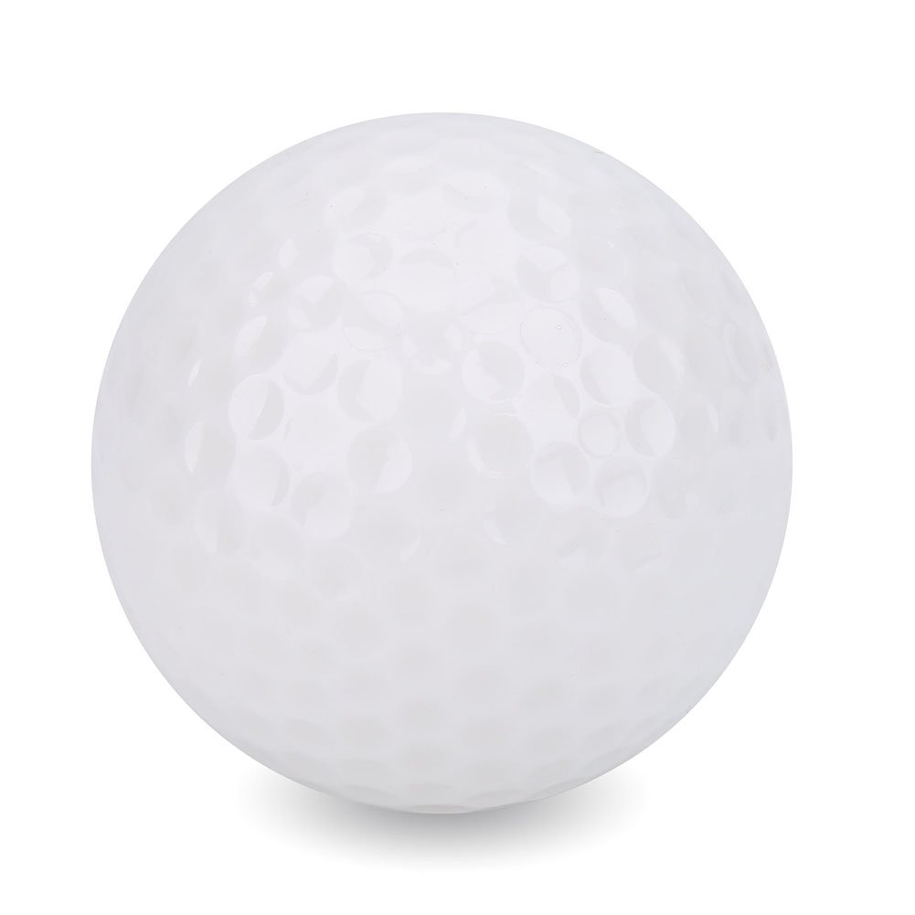 1Pc Luminous Night Golf Balls Standard LED Light up Flashing Novelty Golf Balls Best Accessory for Night Golfing by Alomejor