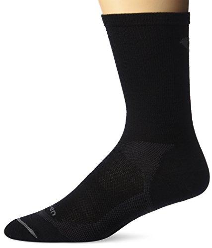 Lorpen Ski Merino Medium Sock - Lorpen Merino Wool Liner Socks, Black, Large