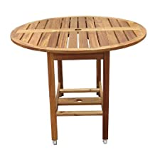 Merry Producst Garden Folding Round Dining Table