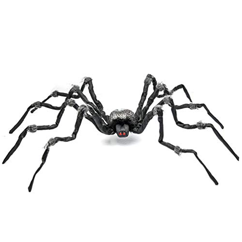 Halloween Spider/Tarantula with Red Eyes for Halloween Haunt Décor Best Halloween Decoration -