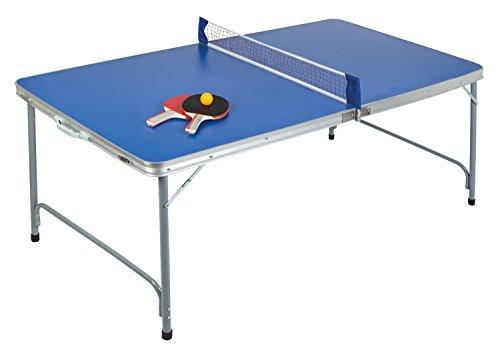 Idena 40464 - Tischtennisplatte compact, klappbar, 160 x 80 x 70 cm