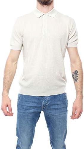 Drumohr Fashion Man D0G202PM006 Beige Cotton Polo Shirt   Spring Summer 20