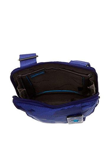 Piquadro Bandolera de hombre iPad Mini Azul Vivo