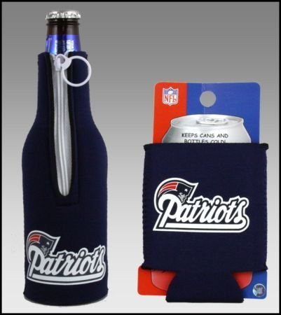 patriots bottle koozie - 3