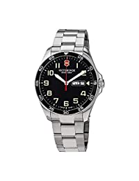 Victorinox Swiss Army 241849 Fieldforce - Reloj para hombre (42 mm, acero inoxidable)