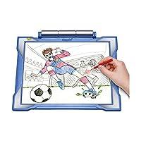 Crayola Light-up Tracing Pad Blue, Coloring Board for Kids, Regalo de Pascua, Juguetes para niños, Edades 6, 7, 8, 9, 10