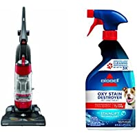 Permanent Pet Stain Remover Bundle - CleanView Pet Vacuum + Bissell Oxy Stain Destroyer Pet Pre-treat