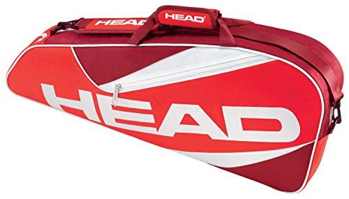 Head Elite Pro Tasche für 3Schläger rot - rot pCP8Y