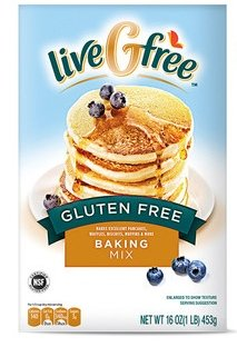 - Gluten Free Baking Mix By Live G Free 2-pack