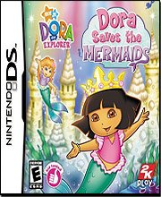 The Best Dora the Explorer: Dora Saves the Mermaids (Nintendo DS)-35187 - Dora Saves the Mermaids takes you on a magical mermaid adventure to save Dora's friends in the Mermaid Kingdom. Dora and Boots need your help bringing a magic crown back to Mariana  by Generic