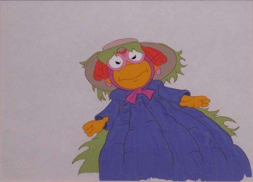 Muppet Babies Original Production Cel of Baby Skeeter, Scooter's (Skeeter Muppet Babies)