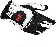 Selkirk Attaktix Men's Premium Pickleball Glove (RH, White/Bl