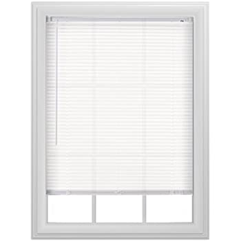 Amazon Com Alabaster 1 Inch Mini Blinds 32 By 64 Inches