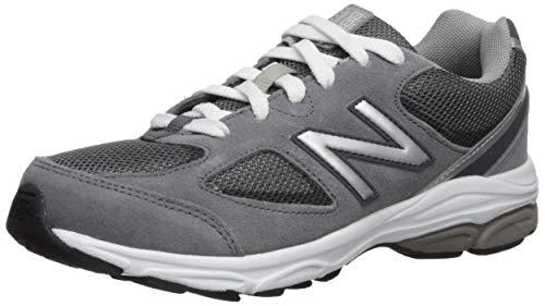 New Balance Boys' 888v2 Running Shoe, Dark Grey, 3.5 M US Big Kid