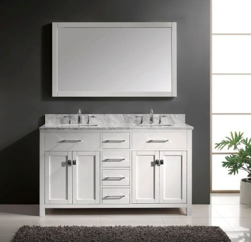 Virtu Usa Md 2060 Wmsq Wh Caroline Bathroom Basic Info