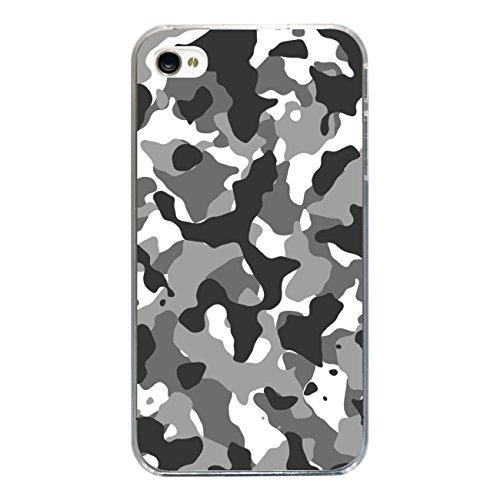 """Disagu Design Case Coque pour Apple iPhone 4 Housse etui coque pochette """"Camouflage Schwarz"""""""