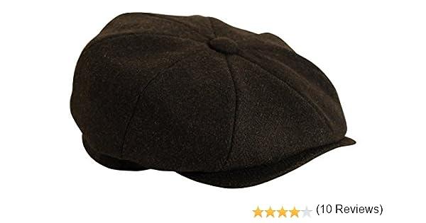 22c35fd234a19  Shelby  Black Herringbone Cap by Gamble   Gunn  Amazon.ca  Clothing    Accessories