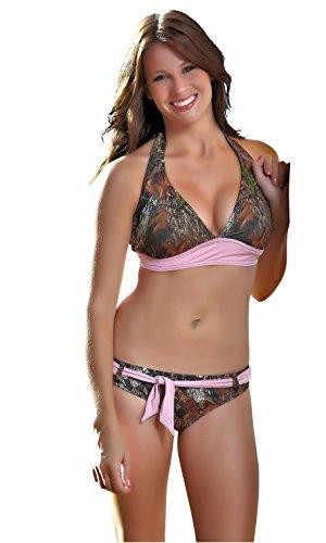 Belted Bottom Bikini Set in Australia - 8