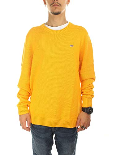 Jaune Longues Classics Homme Tommy Pull Manches Jeans wxqgwYXz