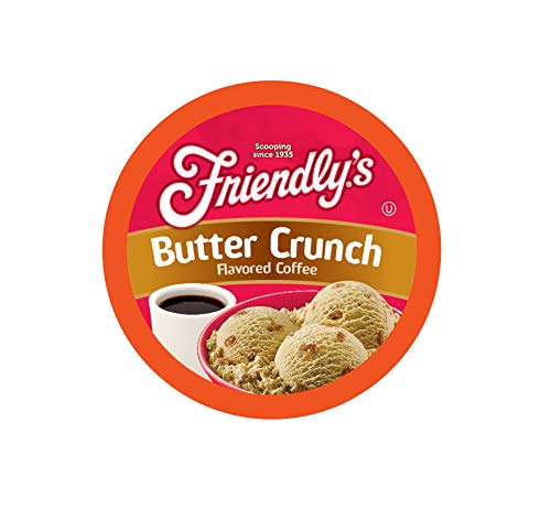Friendly's Butter Crunch Flavored Coffee for Keurig K Cup Brewers ()