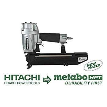 Image of Metabo HPT N5024A2 Pneumatic 1' Wide Crown Stapler, 16 Gauge, 1'Up To 2' Staples, High Capacity Magazine, Tool-Less Depth Adjustment, Quick-Clear Nose, 5-Year Warranty