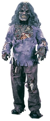 Zombie Complete Child Costume - (Medium (8-10)) -