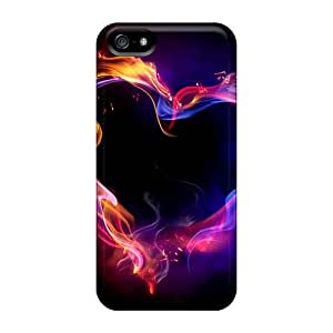 Iphone 5/5s DOB6714VtBK Custom Fashion Inside Out Series Protector Cell-phone Hard Covers -cases-best-covers