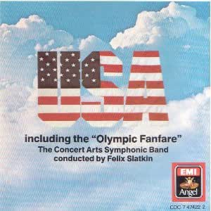 "USA:  Including the ""Olympic Fanfare"""
