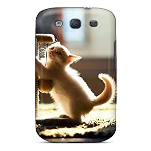 New Arrival Cover Case With Nice Design For Galaxy S3- Playful Kitten