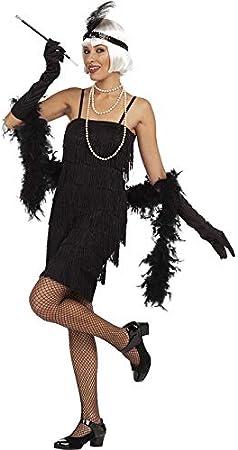 Funidelia Disfraz de charlestón años 20 Negro: Amazon.es: Juguetes ...