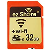 Ez Share WiFi Sd Memory Card 32 GB Class 10 2nd Generation Available for DCS/DVS/DSLRs/DPF,etc.