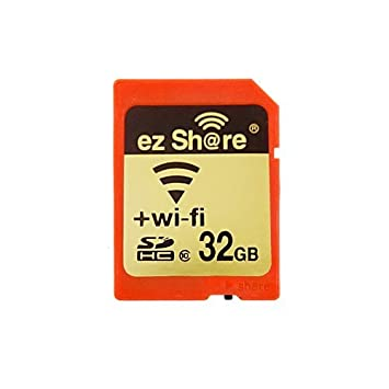 Amazon.com: EZ Compartir Wifi Tarjeta de memoria SD 32 GB ...