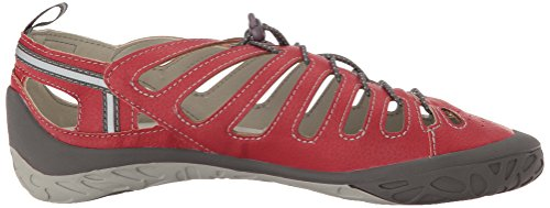 Jsport By Jambu Dames Bad Encore Plat Rood