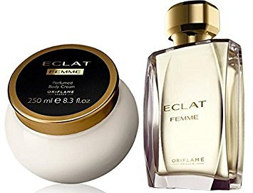 Oriflame Eclat Femme Woman gift set from 2 product - Eclat Femme Eau de Toilette 50 ml. + Eclat Femme Perfumed Body Cream