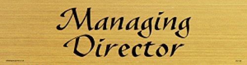 Viking Signs DV1149-L26-GV Managing Director Door Sign Gazelle Font Vinyl  sc 1 st  Amazon UK & Viking Signs DV1149-L26-GV Managing Director Door Sign Gazelle Font ...