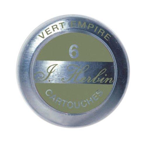 J. Herbin Ink Cartridges Vert Empire