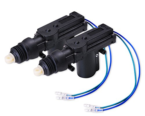 Zone Tech 2-Pack Universal High Power Door Lock Actuator - Premium Quality (Door Lock Actuator Installation)