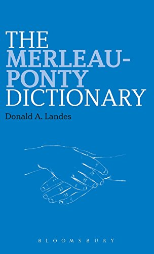 The Merleau-Ponty Dictionary (Continuum Philosophy Dictionaries)