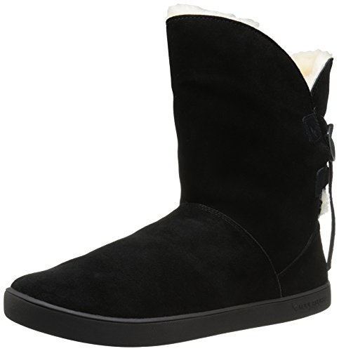 (Koolaburra by UGG Women's Shazi Short Fashion Boot, Black, 09 M US)