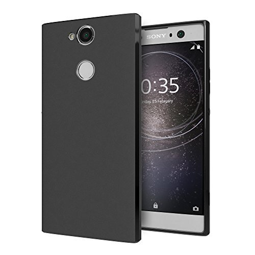 online store 49a78 6a4c9 Cimo Slim Matte Sony Xperia XA2 Ultra Case with Premium TPU Protection for  Sony Xperia XA2 Ultra (2018) - Black