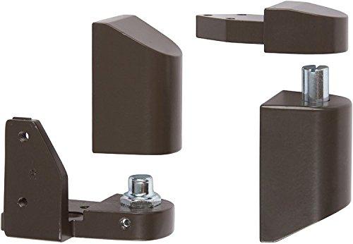 (Offset Pivot Right Hand in Bronze Finish, Durable commercial & residential, door hardware, door handles, locks)