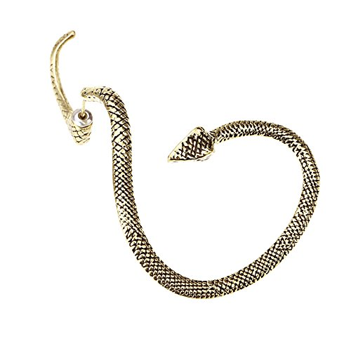 MANDI HOME Gothic Punk Style Temptation Snake Back - Ear Cuffs Snake