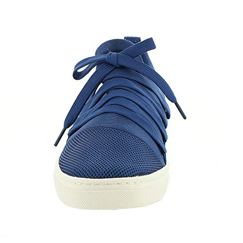 En Skechers73763 Bleu Maille Goldie Et Dentelle Marine Nylon Femme Baskets qEg6rE