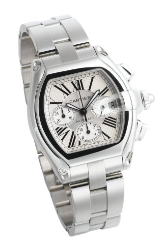 amazon com cartier men s w62019x6 roadster automatic chronograph amazon com cartier men s w62019x6 roadster automatic chronograph watch cartier watches