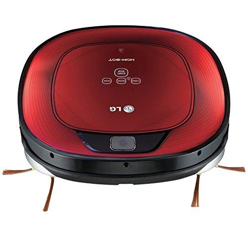 LG VR62701LV Sin bolsa 0.6L Negro, Rojo aspiradora robotizada ...