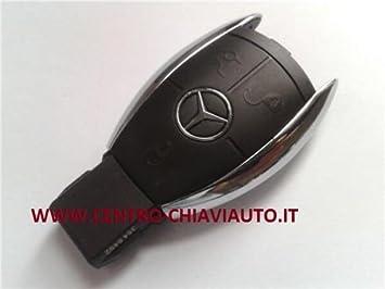Carcasa para llaves/ mando a distancia. 3 botones. Para Mercedes Benz Clase A, B, C, E, S, CLASS, CLS, CLK