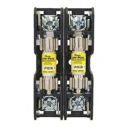 Fuse Block, 3.00''Lx1.60'' W x 1.30'' H, 30A Pack of 2