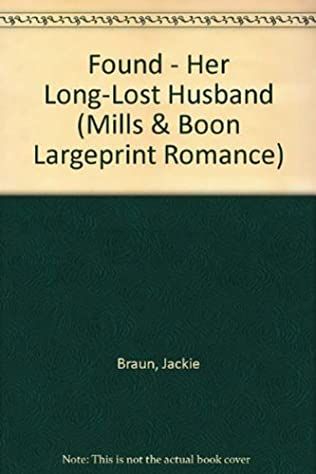 book cover of Found: Her Long-Lost Husband